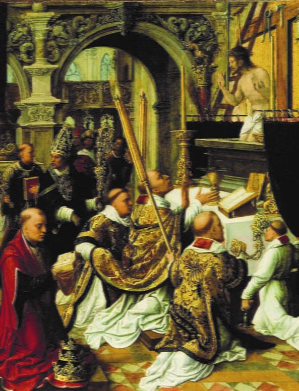 Adrien Isenbrandt, Messe de Saint Grégoire