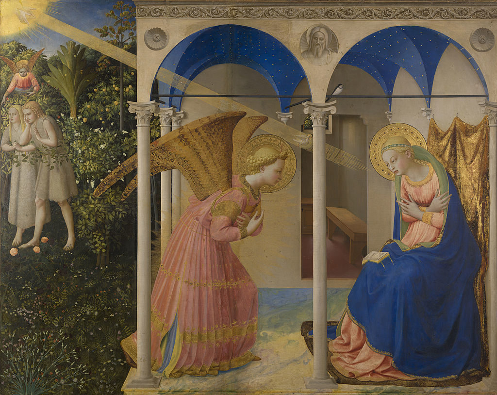 Fra Angelico_l'Annonciation