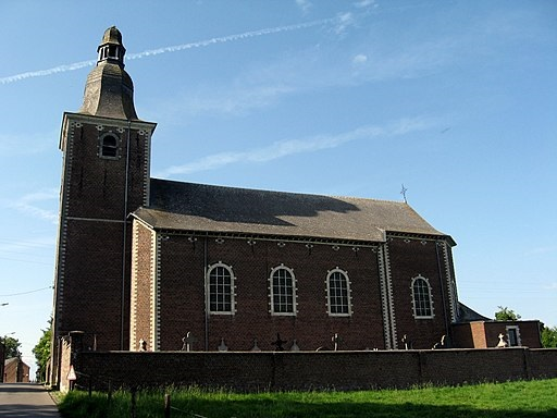 Eglise Saint Jean-Baptiste d'Huppaye