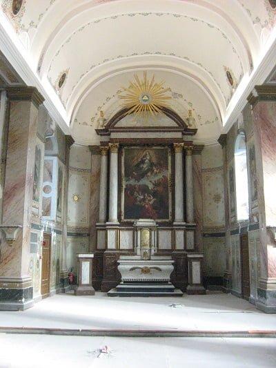 Nef et autel SLINS