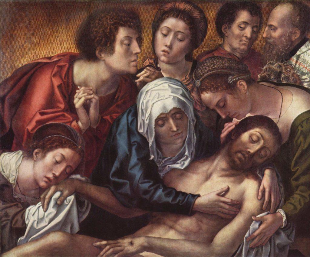 Bernard van Orley Triptyque Haneton v. 1520 Bxl MRBAB