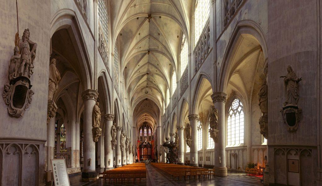 Cathédrale Malines_vue intérieure