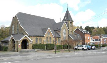 Eglise Mangombroux_vue extérieure