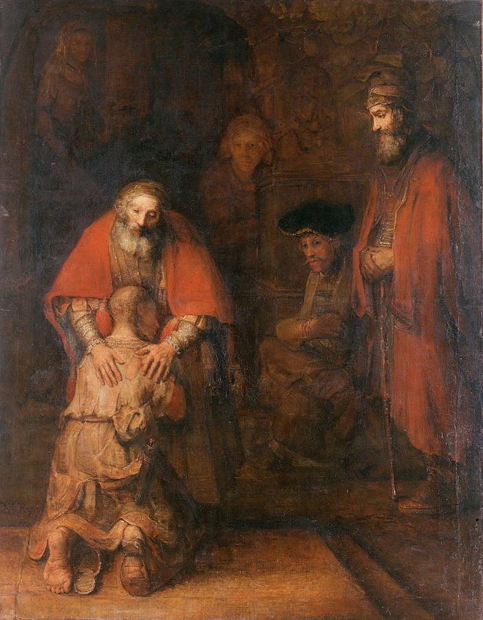 Rembrandt_Le retour du fils prodigue