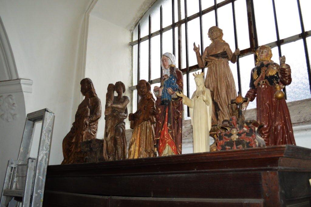 Sculptures rassemblées