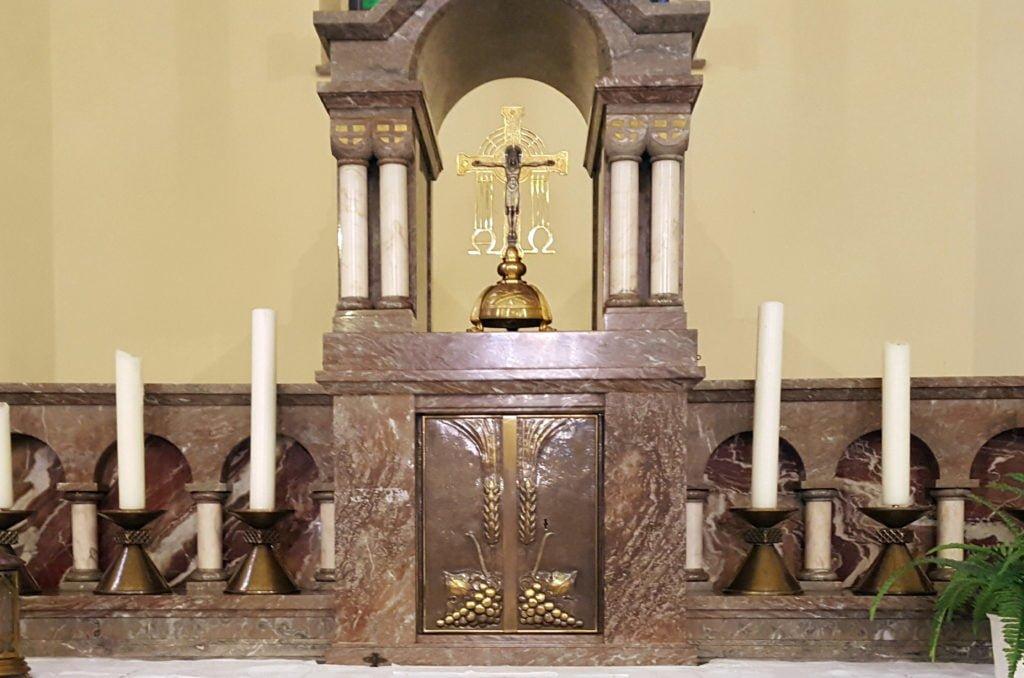 Croix d'autel Bütgenbach_vol