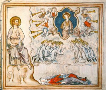 Apocalyspe Manuscrit Namur 14e siècle