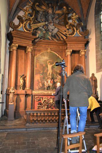 Trois tableaux retrouvés dans l'église Saint-Martin d'Havré : l'IRPA se penche sur leur histoire