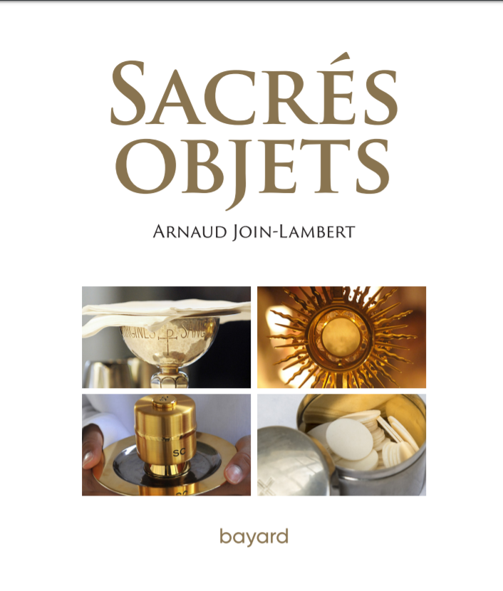 Page de couverture_Sacrés objets-Arnaud Join-Lambert