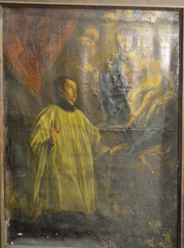 Saint Stanislas de Kotska attribué à Jacques Nicolaï