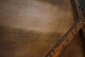 Inscriptions découvertes