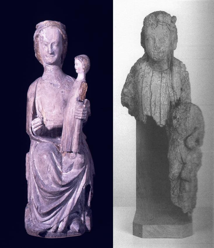 Vierges à l'Enfant_Exposition Rochefort