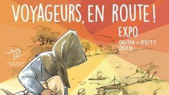 Voyageurs, en Route ! Affiche d'exposition