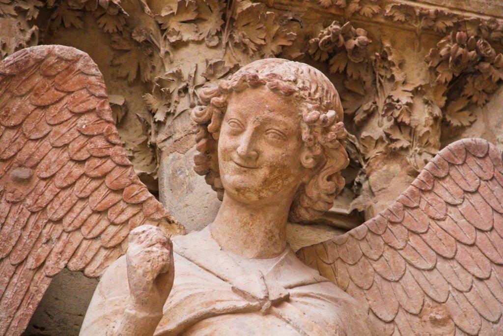 Cathédrale Reims_Ange qui sourire