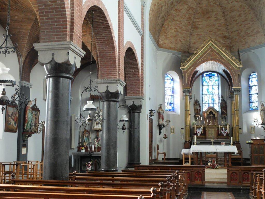 Intérieur de l'église de Vielsalm