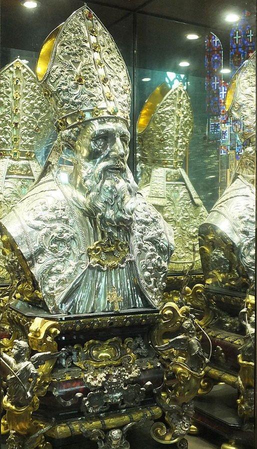 Buste de saint Perpète