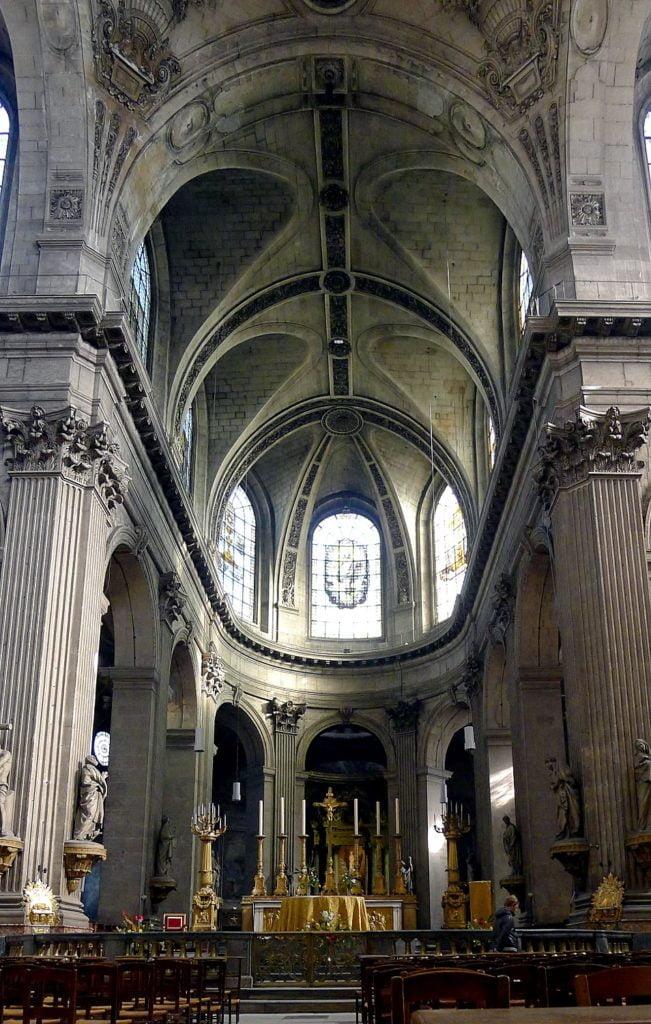 Paris Eglise Saint-Sulpice Choeur
