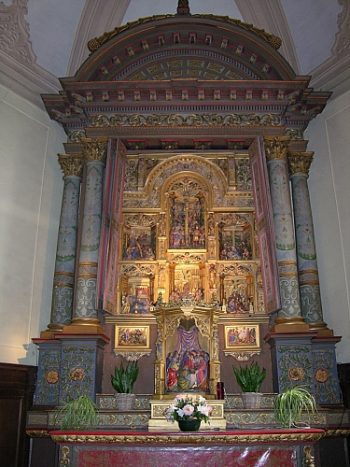 Inauguration du retable et du maître-autel de Gedinne restaurés