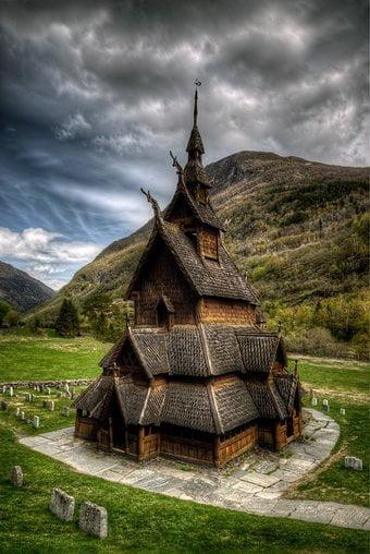 Eglise Borgun (Norvège)