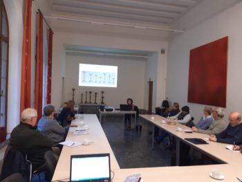 Les personnes-relais patrimoine du service ACF de Tournai en formation continue