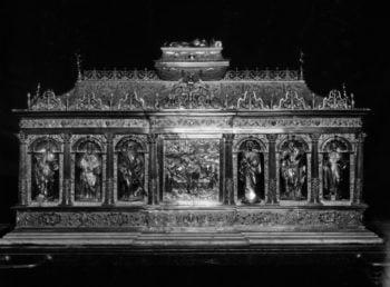 Visites guidées à la collégiale d'Andenne : 7 œuvres du Trésor se révèlent