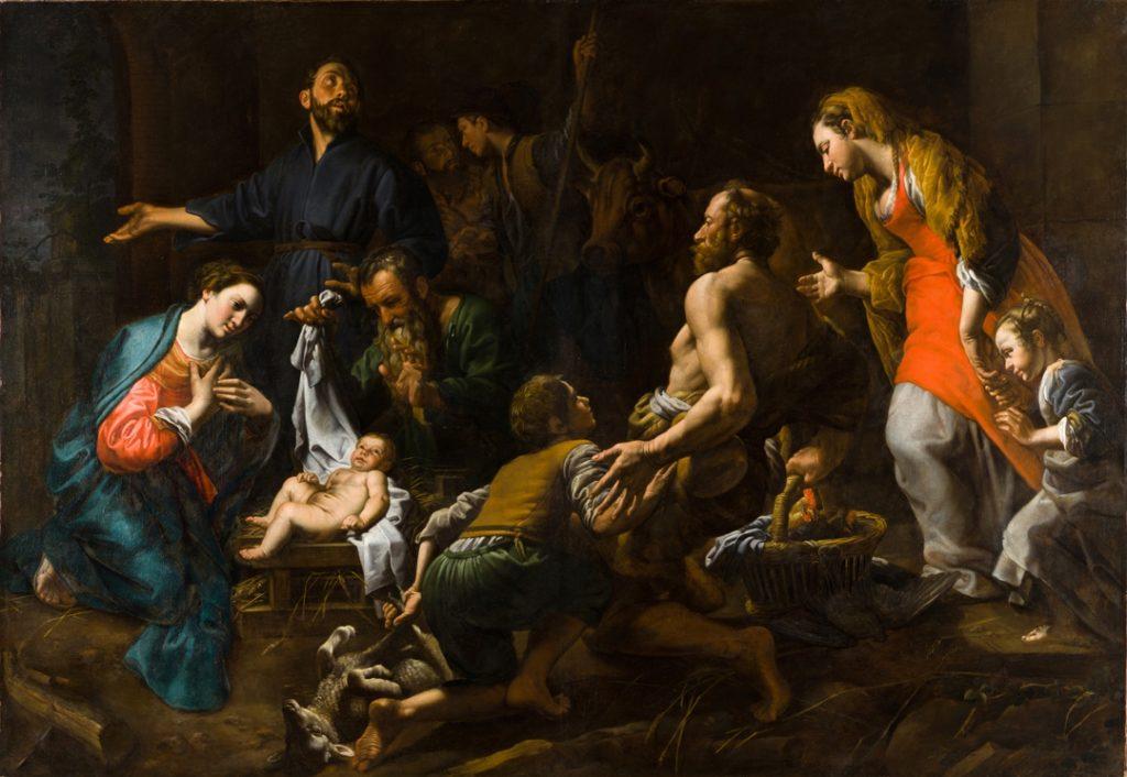 Theodoor van Loon_L'Adoration des Bergers
