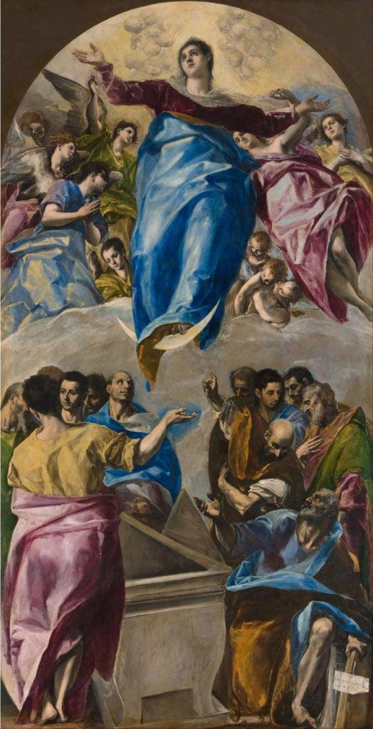 El Greco_Assomption de la Vierge