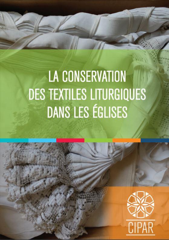 Conservation textiles_Page de garde