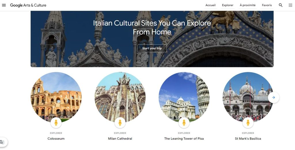 Google Art Project_Italy_All Roads lead to Culture