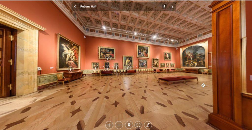 Musée de l'Ermitage_Hall de Rubens