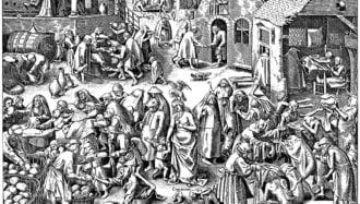 Pieter Bruegel l'Ancien_La Charité_série des Vertus