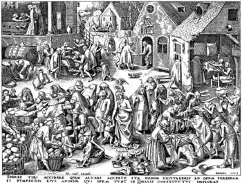 Les estampes de Pieter Bruegel à l'occasion du 450e anniversaire de la mort du Maître (1569-2019)