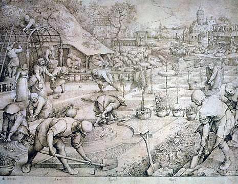Pieter Bruegel l'Ancien_Le Printemps