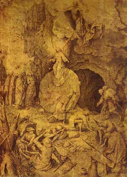 Pieter Bruegel l'Ancien_Résurrection du Christ