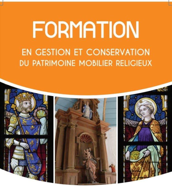Formation en conservation et gestion du patrimoine_Affiche promotionnelle