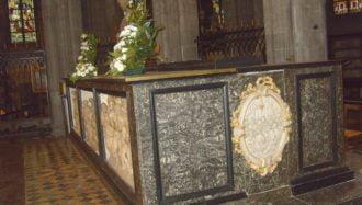 Sainte Waudru - autel