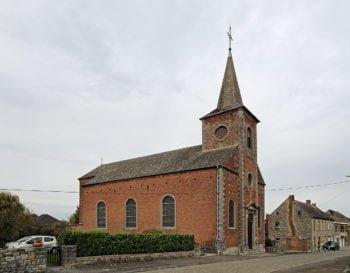 Eglise de Falmignoul  dans le projet Eglise Halte Randonnée