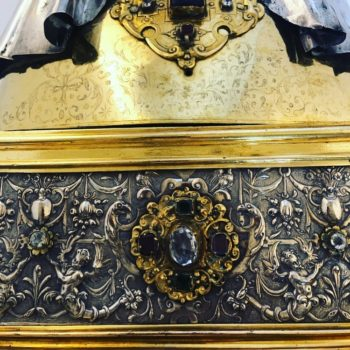 Collégiale d'Andenne : retour sur l'inventaire du patrimoine et sur les premiers traitements de conservation