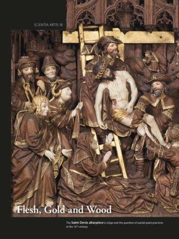 Nouvelle publication :  retable de l'église Saint-Denis à Liège à la loupe