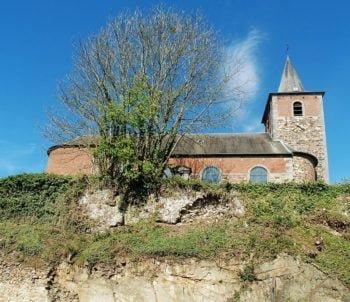 Mont Saint-Guibert sur un promontoire