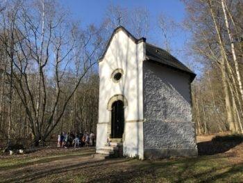 Restauration : Chapelle Notre-Dame de l'Ermitage à Gentinnes