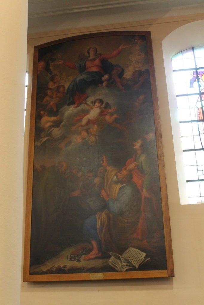 deux_tableaux_de_Maximilien_De_Haese_Ottignies_après restauration