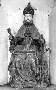 statue_religieuse_Chapelle_de_l_église_saint_Pierre_aux_liens_d_Ellezelles