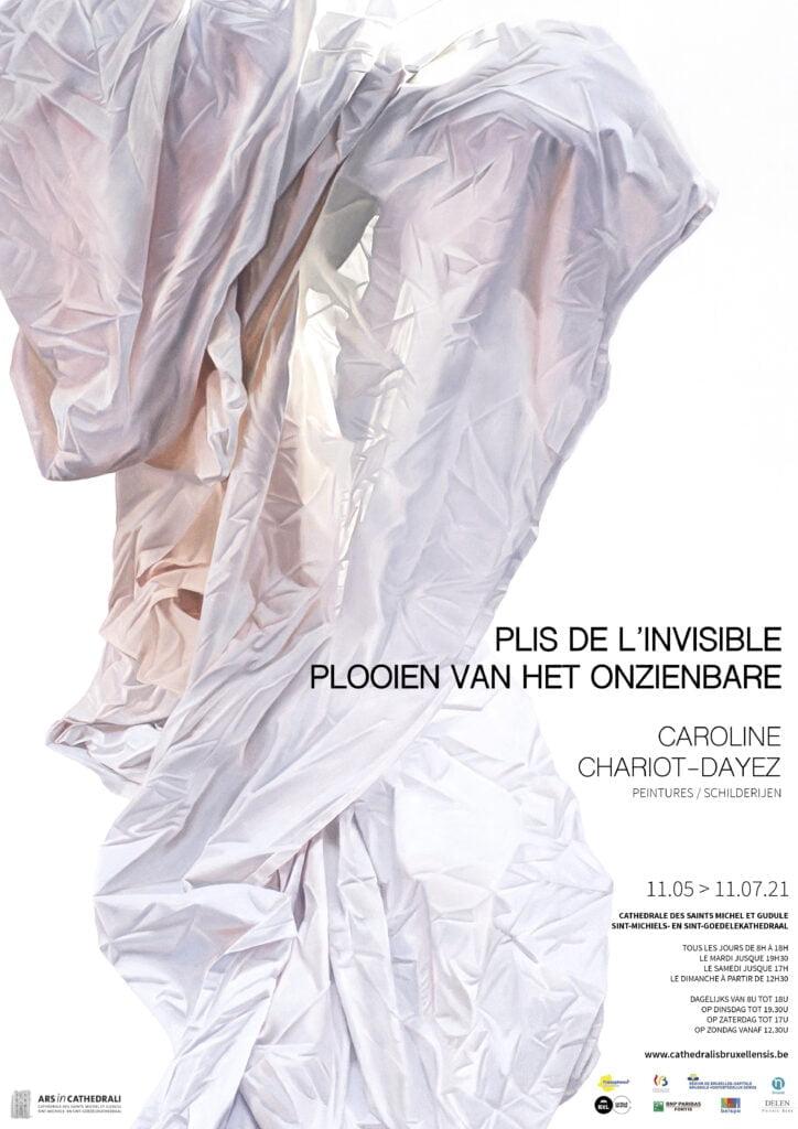Affiche plis de l'invisible. Caroline chariot-dayez.