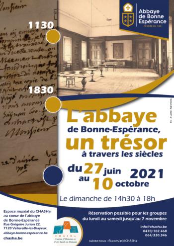 Exposition : L'abbaye de Bonne-Espérance, un trésor à travers les siècles