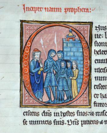 Découverte d'un manuscrit exceptionnel : la Bible de Léau