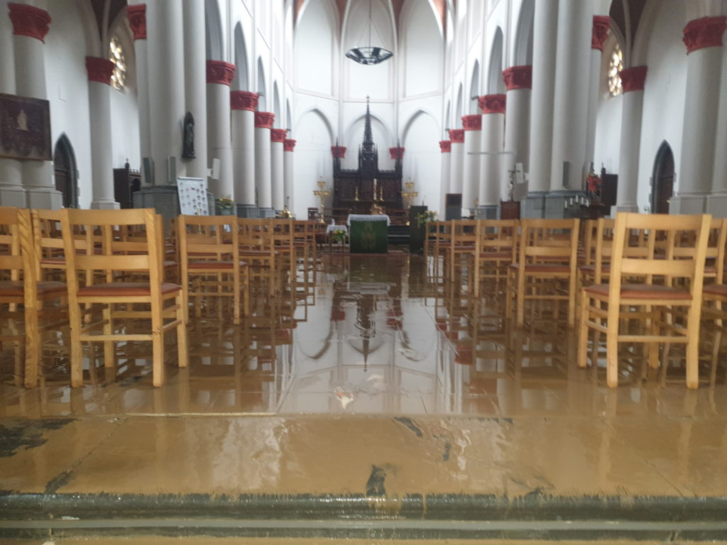 Eglise inondée