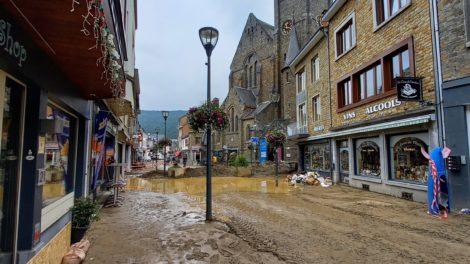 Inondation centre-ville_La Roche