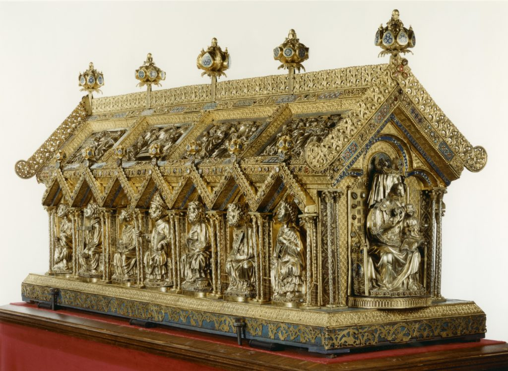Châsse de saint Remacle à Stavelot