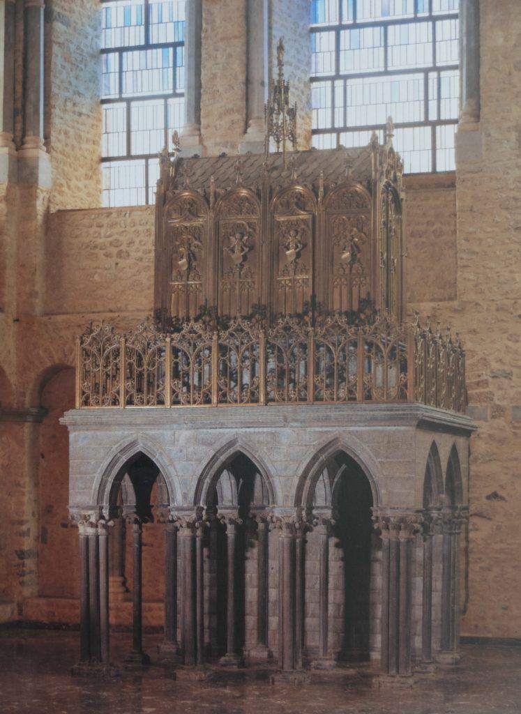 L'édicule de la châsse de sainte Gertrude à Nivelles